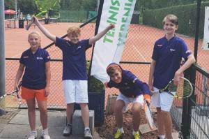 Jongens 10-14jr/1e klasse: kampioen!