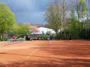 2e competitiedag; sometimes it snows in April!