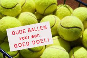 Oude ballen voor Ecomare!