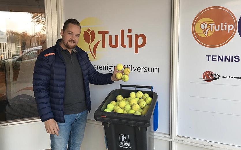 Help met inzamelen van oude tennisballen voor Ecomare!